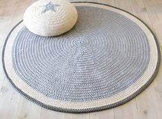 Round Rug by lacasadecoto from Etsy