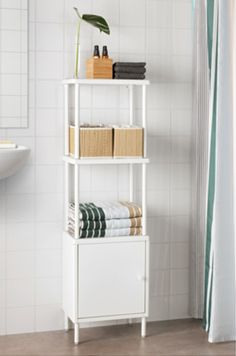 DYNANShelving unit with cabinet, white$70.00