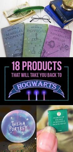 18 Products That Will Take You Back To Hogwarts