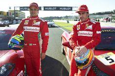 Felipe Massa & Fernando Alonso