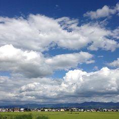 お昼過ぎの  山形県米沢市遠山町。 - @mizutamahanco- #webstagram