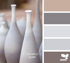 Colors that would go well in our house (that's painted in that first color shown!)