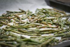 (Danish recipe) Fritter af grønne bønner