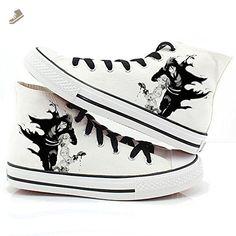 56a071400 Black Butler Kuroshitsuji Anime Ciel and Sebastian Cosplay Shoes Canvas  Shoes Sneakers 2 - Telacos sneakers