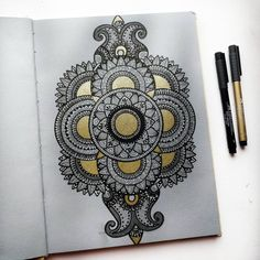 """Vinita🎨 Mandala,Watercolor Art on Instagram: """"Last one for the #7mandalaschallenge that I m hosting with @ataraxiaowl ! Can't believe we are at the end of this awesome challenge! Thank…"""" Last One, Henna Art, So Much Love, Watercolor Art, Believe, Mandala, Challenges, Canning, Awesome"""