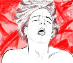 <<Orgasme exquis>> 726 x 630 par Jean-Yves ARO66