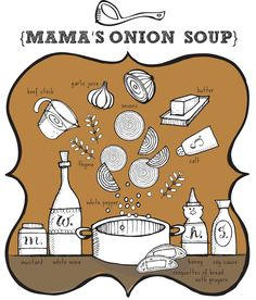 Have a recipe you love? Have LisaOrgler via Etsy draw you a personalized graphic recipe of it! $125