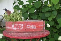 Vintage RC Cola Crate
