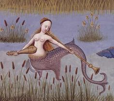 I just know this is what mermaids really look like.