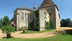 14th century chapel house adjoining Château de la Bourlie a 5 bedroom self catering holiday château in the Dordogne, France. www.purefrance.com