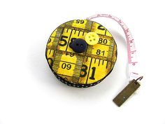 Retractable Measuring Tape Tape Measure by AllAboutTheButtons
