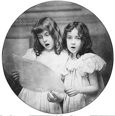 Two Girls Singing 1897 by Rudolph Eickemeyer (American, 1862–1932)