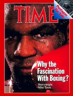 Mike Tyson - Time Magazine Cover , June 27, 1988