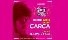 PARTY ROCKING vuelve a M.O.D y presenta a CARCA en vivo