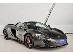 McLaren 650S - 3.8 Spider-Akrapovič Exhaust-Dealer car - 2014 - Benzine - AutoWereld.nl