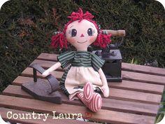 La mia Raggedy Ann  Per info: countrylaura@libero.it