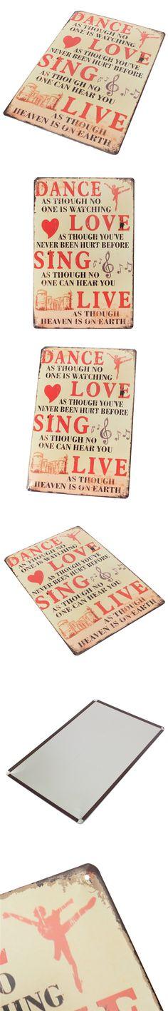 Best Gift Vintage Metal Proverb Sign Tin Plaque Tin sheet Metal SignTavern Bar Home Wall Decor Retro Poster $8.1