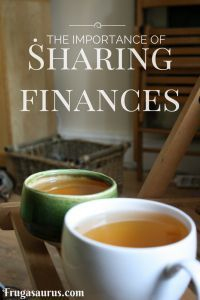 the importance of sharing finances