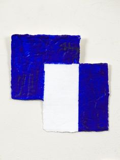 Mary Heilmann The Geometry of a Wave, 2015 Acrylic on paper 6 1/8 x 6 1/8 inches (15.6 x 15.6 cm)