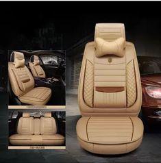 Mercedes Clase E-de Lujo de Cuero Artificial cubiertas de asiento de coche-Conjunto Completo