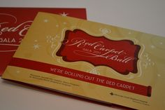 Red Carpet Ball Invitation on Behance