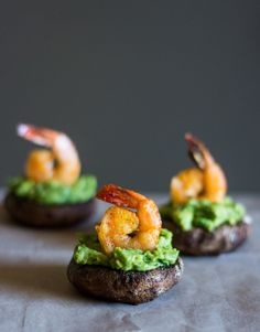 These super flavorful, bitesize shrimp and avocado stuffed mushrooms are the perfect appetizer for any party from game day to birthday parties.