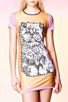 BIG PUSS dress by QooQooFashion on Etsy, $80.00