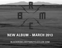 Black Rebel Motorcycle Club Return with New Album    http://exclaim.ca/News/black_rebel_motorcycle_club_announce_new_album_for_march_release