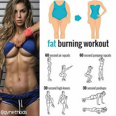 Healthy | Physique | Tips Fat burning workout! Follow us (@gymethods) for the best daily workout tips ⠀ All credits to respective owner(s) // DM Tag a friend who'd like these tips