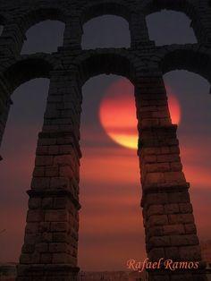 Beautiful Aqueduct of Segovia,  I was there...
