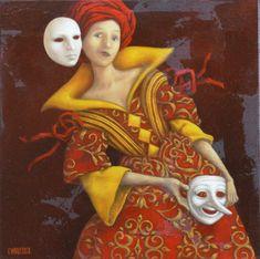 Catherine Chauloux  -  Jeu de masques