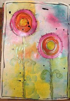Learn 5 ways to use the Clearsnap Aladine iZink Pigment Inks in this fun, beautiful card project. Click on the image for the tutorial.