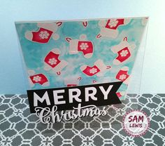 Christmas Stocking Cards by Sam Lewis AKA The Crippled Crafter.   http://www.thecrippledcrafter.co.uk/2017/10/christmas-card-batch-making-4-stockings.html  #thecrippledcrafter #daisysjewelsandcrafts #spectrumnoir #watercolour #christmascrafting #christmas #cardmaking