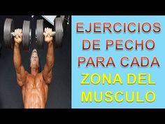Rutina De Pectorales - http://ganarmusculoss.blogspot.com  Ejercicios de pecho por zonas para trabajar todo el musculo de los pectorales para conseguir la mayor definición posible añadiéndolos a tu rutina de pectorales.