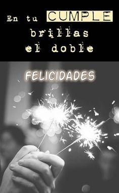 IMÁGENES DE CUMPLEAÑOS ® Frases de cumpleaños feliz Happy Birthday Pictures, Happy Birthday Messages, Happy Birthday Quotes, Birthday Images, Birthday Cards, Happy B Day, Are You Happy, Unique Birthday Wishes, Birthday Party Desserts
