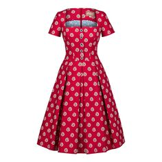 Provence bouquet cherry dress by fashion 5 LENA HOSCHEK for Preorder on Moda Operandi Latest African Fashion Dresses, African Print Dresses, African Dresses For Women, African Print Fashion, Africa Fashion, African Attire, African Wear, Shweshwe Dresses, Cherry Dress