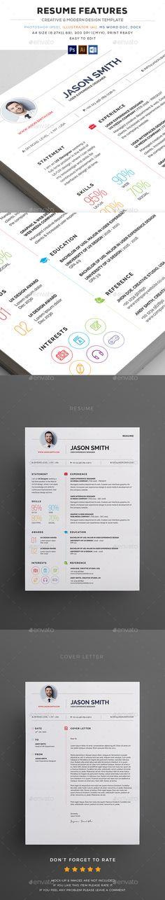 Resume Ai illustrator, Resume cover letters and Infographic resume - illustrator resume