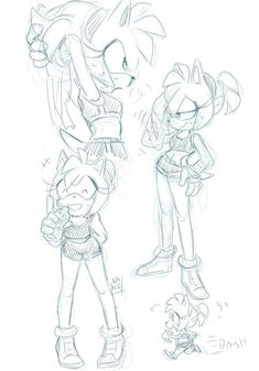 Amy working out, sketches! Stretches first Hedgehog Art, Cute Hedgehog, Sonic The Hedgehog, Amy Rose, Cute Nerd, Shadow And Amy, Silver The Hedgehog, Sonic And Amy, Sonic Fan Characters
