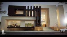 Provenza house by Creato Arquitectos, via Behance