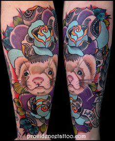 ferret tattoo