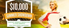Mondogoal Launches First-Ever Fantasy Soccer Platform For 2015 Women's World Cup with $10k Final Tournament.