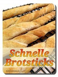Schnelle Brotsticks   Einfach mal einfach