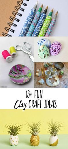 Easy clay craft tuto