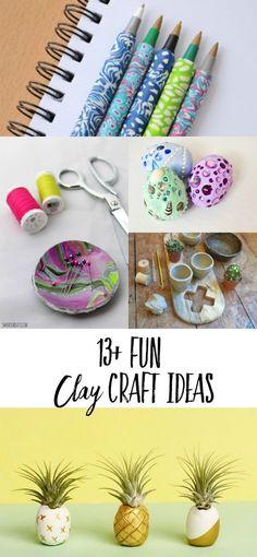 Easy clay craft tuto