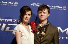 Dane DeHaan and wife Anna Wood attend 'The Amazing Spider-Man 2: Rise Of Electro' Rome Premiere at The Space Moderno Cinema on April 14, 2014 in Rome, Italy.