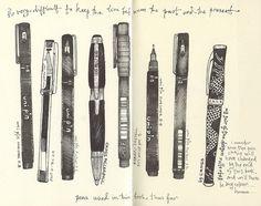 More Moleskine sketches. Moleskine, Sketch Journal, Artist Journal, Arte Sketchbook, Sketchbook Pages, Sketchbook Layout, Books Art, Sketchbook Inspiration, Urban Sketching