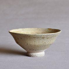 Japanese Seto Ash Glazed Ido Tea Bowl Edo-Meiji period