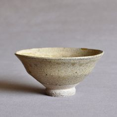 Japanese Seto Ash Glazed Ido Tea Bowl Edo-Meiji period   瀬戸焼