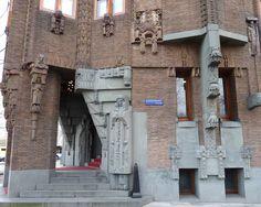 Image Hosted by PicturePush Brick Architecture, Art Nouveau Architecture, Bauhaus, Harlem Renaissance, Amsterdam School, Streamline Moderne, Art Deco, Arch Interior, Brickwork