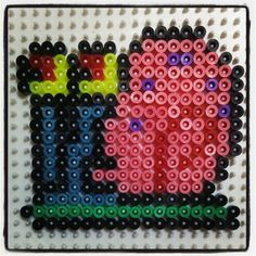 Gary SpongeBob hama beads by montse_akane